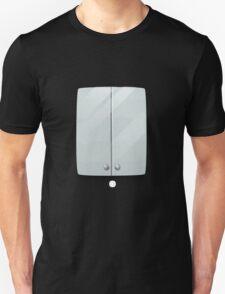 Glitch bag furniture wallcabinet simply white wall cabinet T-Shirt