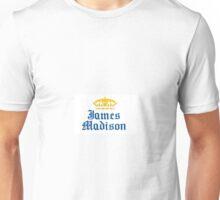 James Madison University Sticker Unisex T-Shirt