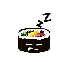 Sleeping Sushi sticker #digistickie Photographic Print
