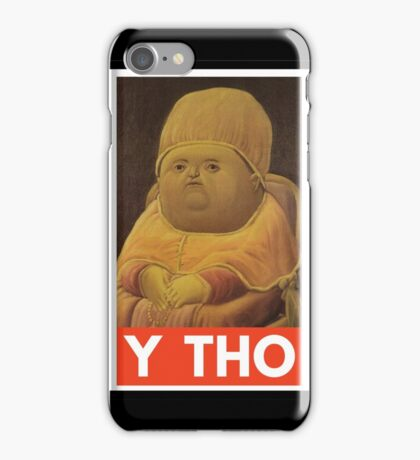 Y THO - MEME (OBEY) iPhone Case/Skin