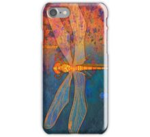 Flaming Dragonfly iPhone Case/Skin