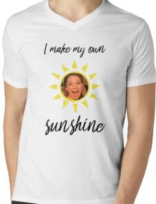 Sunshine Mens V-Neck T-Shirt