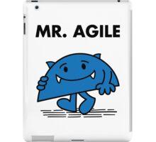 Mr. Agile iPad Case/Skin
