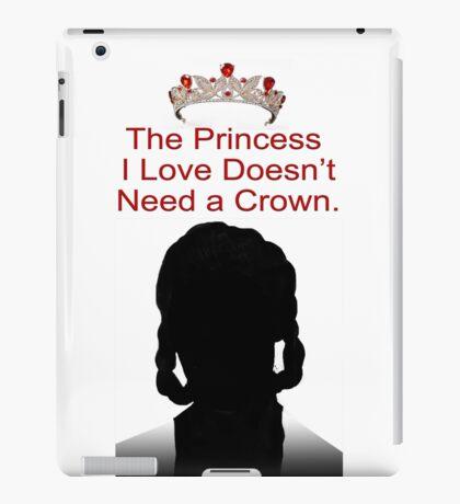 My Idol Needs No Crown iPad Case/Skin