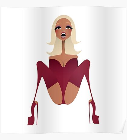 M is for Mama Ru Poster