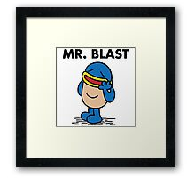 Mr. Blast Framed Print