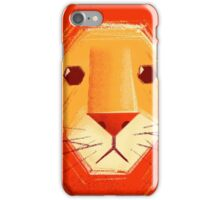 Sad lion iPhone Case/Skin