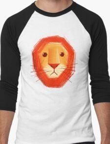 Sad lion Men's Baseball ¾ T-Shirt