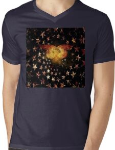RightOn Stars Mens V-Neck T-Shirt
