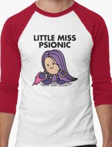 Little Miss Psionic Men's Baseball ¾ T-Shirt