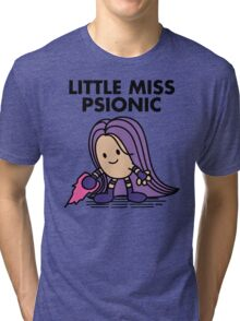 Little Miss Psionic Tri-blend T-Shirt