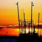 Sunrise Over the Fishing Fleet by FedericoArts