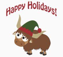 Happy Holidays! Elf Yak Kids Clothes