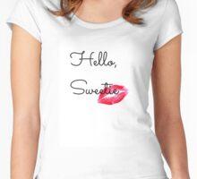 Hello, Sweetie Women's Fitted Scoop T-Shirt