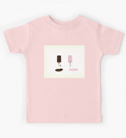 Melting Icy Poles on a Summer's Day! Kids Tee