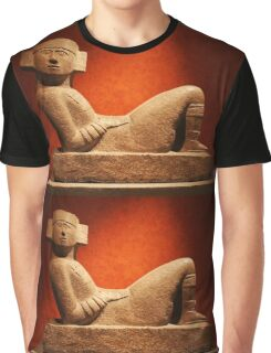 Chac Mool at the Anthropological Museum in Mexico City Graphic T-Shirt