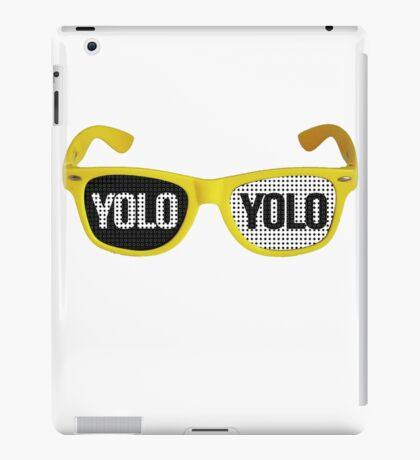 Yolo goggles iPad Case/Skin