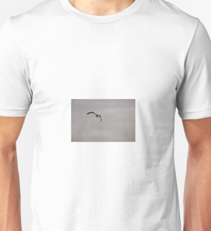 Seagull at the Sunrise Mall, Sacramento, CA Unisex T-Shirt