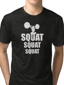 Squats Tri-blend T-Shirt