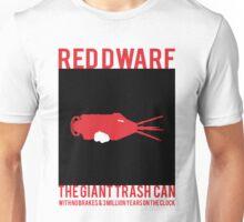 Minimal Red Dwarf Mining ship illustration  Unisex T-Shirt
