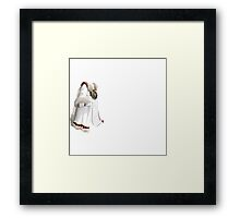 Glitch Coats alph lem Framed Print