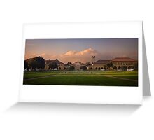 Stanford at sunrise Greeting Card