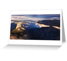 Half Dome in the morning Greeting Card