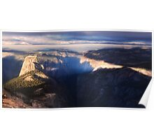 Half Dome in the morning Poster