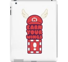 Red blocks give you wings. iPad Case/Skin