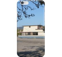 One of many Houseboats left on the Mud Flats! Tin Can Bay. Qld. iPhone Case/Skin