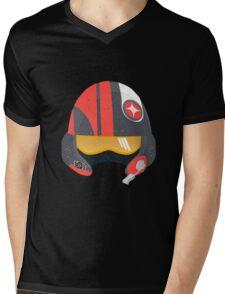 Poe Helmet Mens V-Neck T-Shirt
