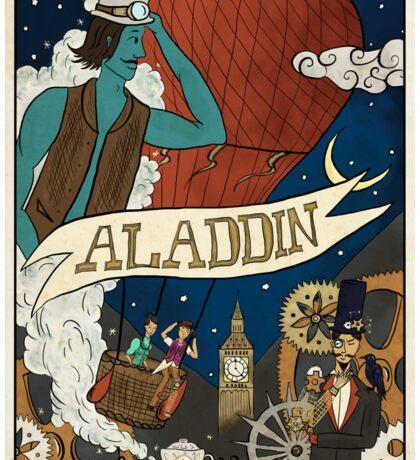Steampunk Aladdin Sticker
