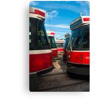 Bumper To Bumper Traffic Canvas Print