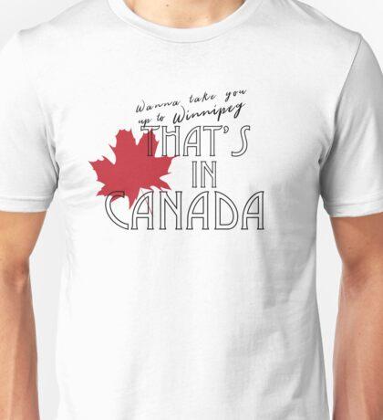 Winnipeg  Unisex T-Shirt