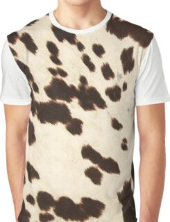 Brown Cowhide 2 Graphic T-Shirt