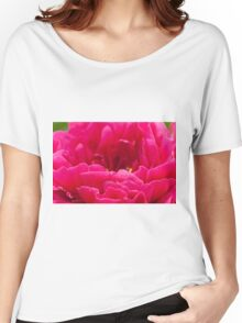 Pink Peony Women's Relaxed Fit T-Shirt