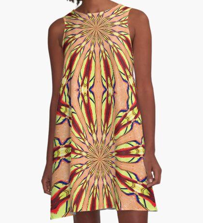 Charleston colors 4 A-Line Dress