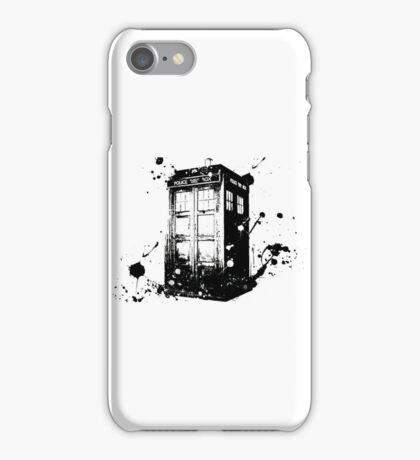 TARDIS Graffiti iPhone Case/Skin