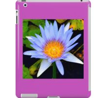 Waterlily iPad Case/Skin