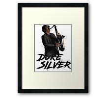 Duke Silver - Rob Swanson Framed Print