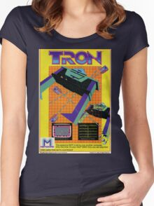 Tron Women's Fitted Scoop T-Shirt