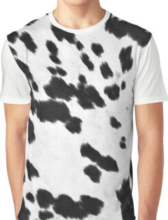 Cowhide Black and White 3 Graphic T-Shirt