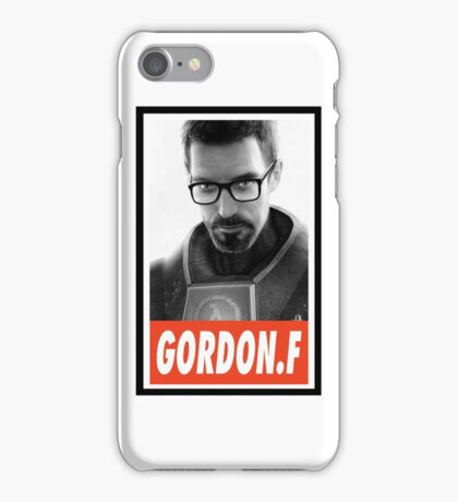 -GEEK- Gordon Freeman iPhone Case/Skin
