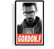 -GEEK- Gordon Freeman Canvas Print