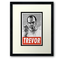-GEEK- Trevor GTA V Framed Print