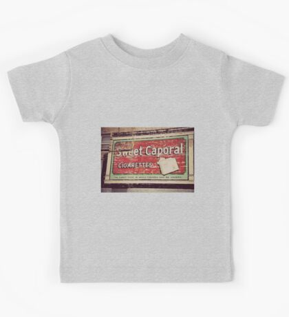 Ghost Sign - Sweet Caporal Kids Tee