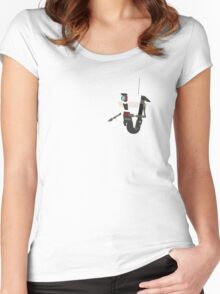 Custom Colour Claptrap Women's Fitted Scoop T-Shirt