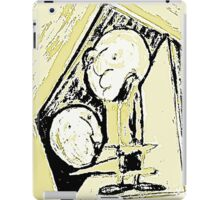 Two Characters. Hand drawing in digital art iPad Case/Skin