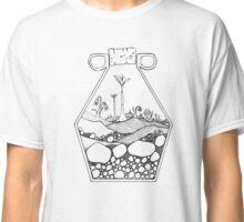 Geometric Terrarium (black) Classic T-Shirt