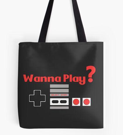 Nintendo- Wanna Play? Tote Bag
